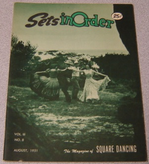 Image for Sets in Order: The Magazine of Square Dancing, Volume 3 No. 8, August 1951