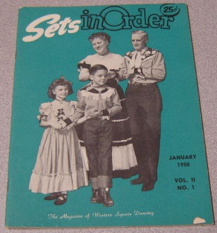 Image for Sets in Order: The Magazine of Square Dancing, Volume 2 #1, January 1950