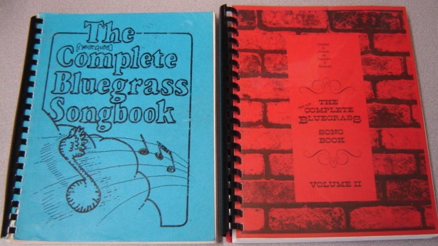Image for The (Never Quite) Complete Bluegrass Songbook, Volumes 1 & 2, 2 Volume Set