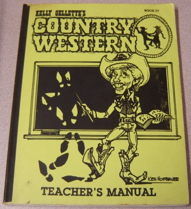 Image for Kelly Gellette's Country Western, Book IV, Teacher's Manual