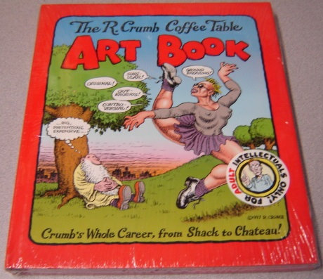 Image for The R. Crumb Coffee Table Art Book: Crumb's Whole Career, From Shack To Chateau!