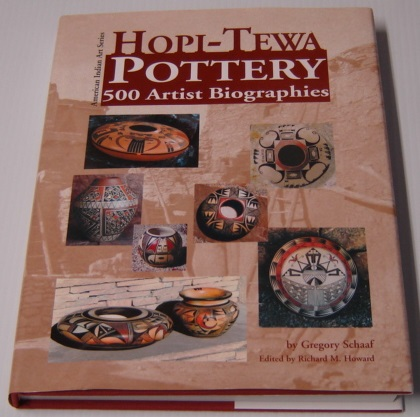 Image for Hopi-Tewa Pottery: 500 Artist Biographies, Ca. 1800-Present, with Value/Price Guide Featuring over 20 Years of Auction Records (American Indian Art Ser)