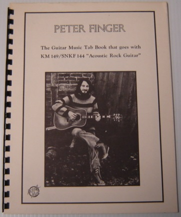 "Image for Peter Finger: The Guitar Music Tab Book That Goes with KM 149/ SNKF 144 ""Acoustic Rock Guitar"""