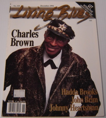 Image for Living Blues No. 118, Vol. 25 #6, December 1994: A Journal Of The Black American Blues Tradition