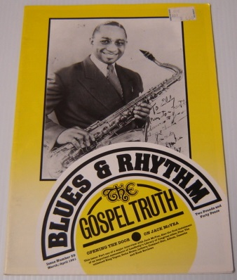 Image for Blues & Rhythm, The Gospel Truth, Issue 59, March/April 1991