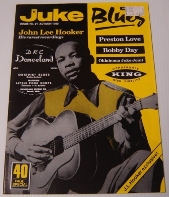 Image for Juke Blues, Issue No. 21, Autumn 1990