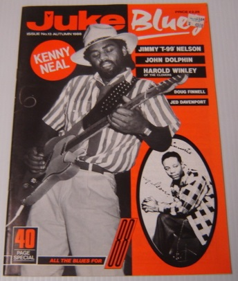 Image for Juke Blues, Issue No. 13, Autumn 1988