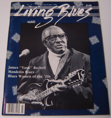 Image for Living Blues, No. 79, March/April 1988: A Journal of the Black American Blues Tradition