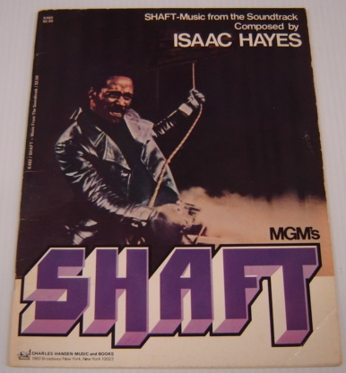 Image for MGM's Shaft; Shaft - Music from the Soundtrack Composed by Isaac Hayes