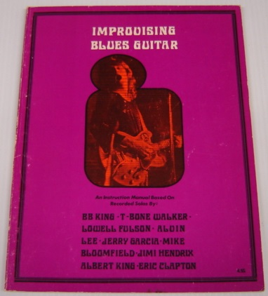 Image for Improvising Blues Guitar a Programmed Manual of Instruction