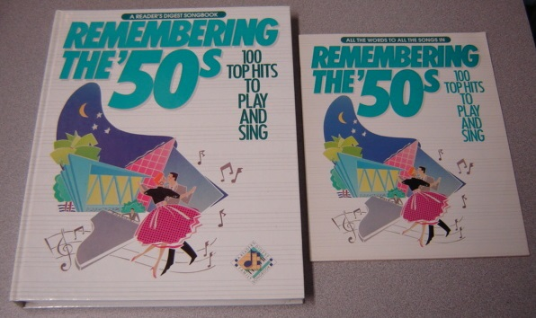 Image for Remembering The '50s : 100 Top Hits To Play And Sing With Lyric Booklet (Reader's Digest Songbook)