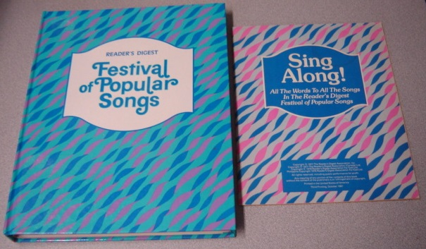 Image for Reader's Digest Festival Of Popular Songs With Lyrics Booklet