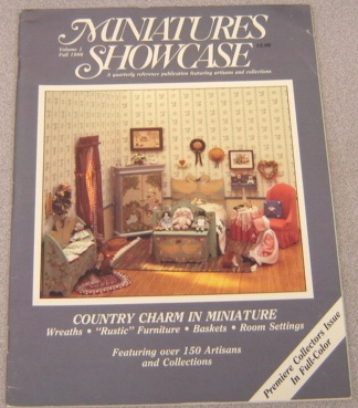 Image for Miniatures Showcase, Volume 1, Fall 1986
