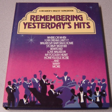 Image for Remembering Yesterday's Hits (Reader's Digest Songbook Ser.)