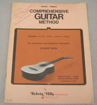 Image for Comprehensive Guitar Method, Student Book