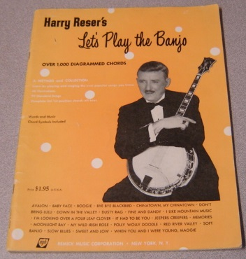 Image for Harry Reser's Let's Play The Banjo (Over 1,000 Diagrammed Chords)