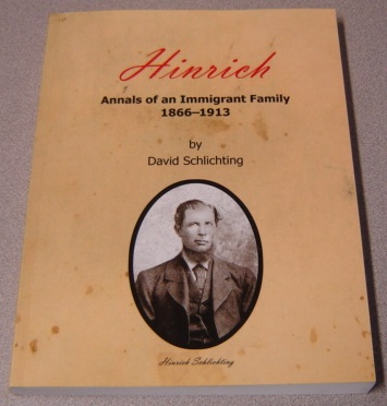 Image for Hinrich: Annals Of An Immigrant Family, 1866-1913