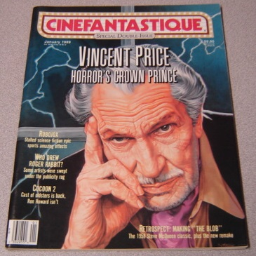 Image for Cinefantastique - Volume 19, Number 1 And 2 - January Jan 1989: Special Double Issue: Sherlock And Me; Stuart Gordon's Robojox; John Carpenter's They Live; Hellbound: Hellraiser II; Neil Jordan's High Spirits; Cocoon: The Return, etc.