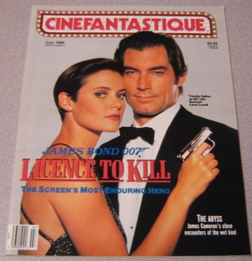 Image for Cinefantastique Magazine, Volume 19 #5 July 1989 - James Bond License To Kill