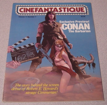 Image for Cinefantastique Magazine, Vol. 11, No. 3, September, 1981, Conan The Barbarian