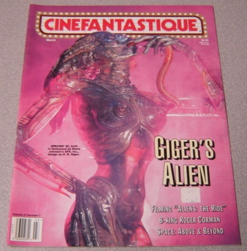 Image for Cinefantastique Magazine, March 1996, Volume 27 #7, Giger's Alien
