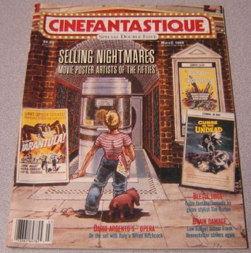 Image for Cinefantastique Magazine Volume 18 #2/3 March 1988 (Selling Nightmares- Movie Poster Artists of the Fifties)