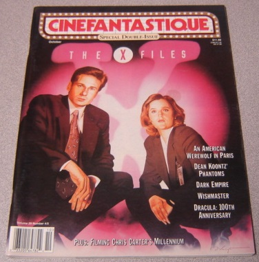 Image for Cinefantastique Magazine, Volume 29 #4/5 October 1997, The X-files Double Issue
