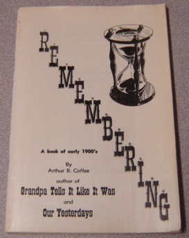 Image for Remembering: A Book Of Early 1900's