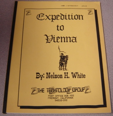 Image for Expedition To Vienna, Or My Introduction To The Free Templer Order