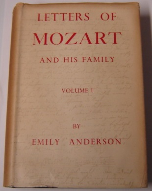 Image for The Letters Of Mozart & His Family, Volume I