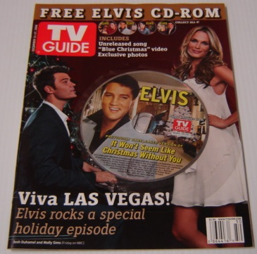 "Image for TV Guide December 11-17, 2006 (with CD-ROM of Unreleased Version of Elvis Presley's ""It Wont Seem like Christmas Without You"")"