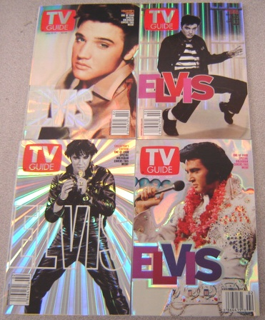 Image for TV Guide, January 13-19, 2001: Long Live The King! Elvis Presley (set Of 4 Special Hologram Covers)