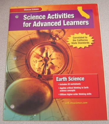 Image for Science Activities For Advanced Learners: Earth Science, Correlated To The California State Standards