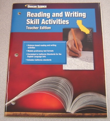 Image for Glencoe Science Reading And Writing Skill Activities, Teacher Edition, California