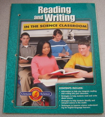 Image for Reading and Writing in the Science Classroom (Glencoe Science Professional Series)