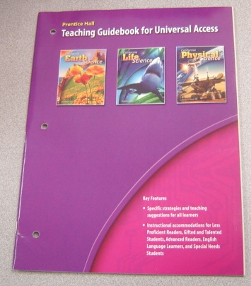 Image for Prentice Hall Teaching Guidebook For Universal Access, California Science Explorer