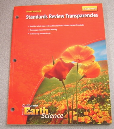 Image for Prentice Hall Standards Review Transparencies (California Focus On Earth Science Ser.)