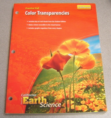 Image for Prentice Hall Color Transparencies (California Focus on Earth Science)