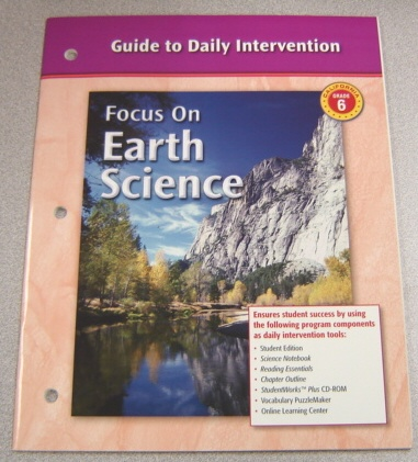 Image for Guide to Daily Intervention, California Grade 6 (Focus on Earth Science)