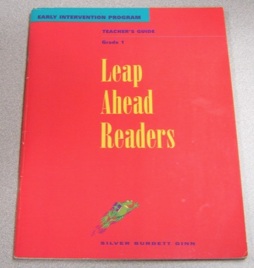 Image for Grade 1 Leap Ahead Readers, Early Intervention Program, Teacher's Edition (Literature Works Series)