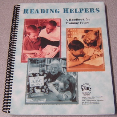 Image for Reading Helpers: A Handbook For Training Tutors