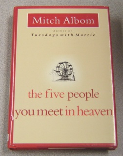 Image for The Five People You Meet In Heaven, Large Print