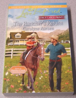 Image for Rancher's Return, Large Print
