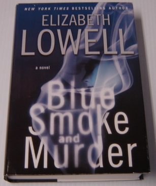 Image for Blue Smoke And Murder, Large Print