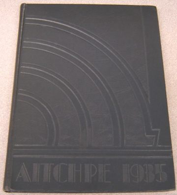 Image for The Aitchpe 1935, Hyde Park High School, Chicago