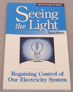 Image for Seeing The Light:   Regaining Control of Our Electricity System