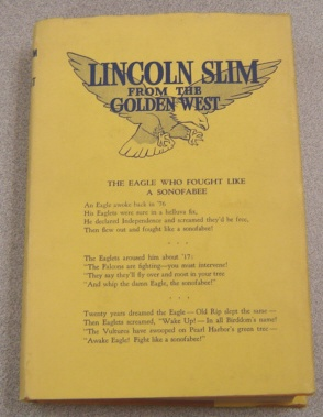 Image for Lincoln Slim From The Golden West