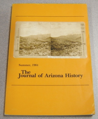 Image for Journal Of Arizona History, Summer 1984, Vol. 25 #2