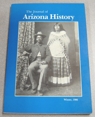Image for The Journal Of Arizona History, Winter 1986, Vol. 27 #4