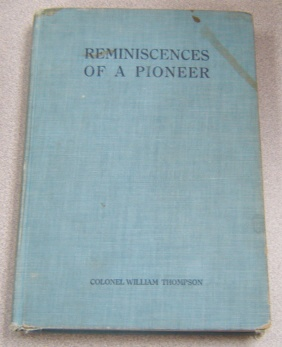 Image for Reminiscences of a Pioneer